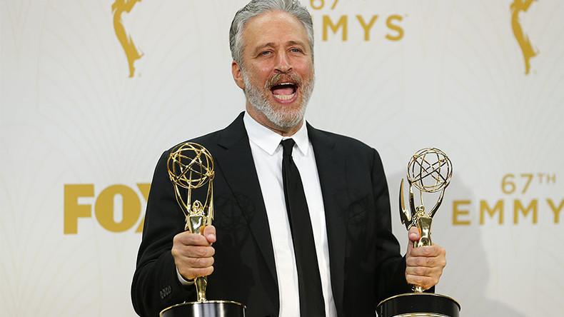 'Stop whining, media!' Jon Stewart slams press over Trump 'break-up' (VIDEO)