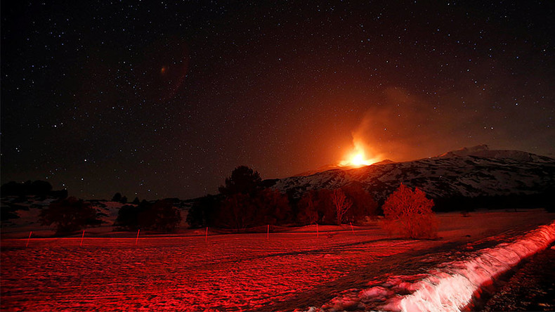 Mt. Etna eruption creates spectacular fireworks display (PHOTOS, VIDEO)