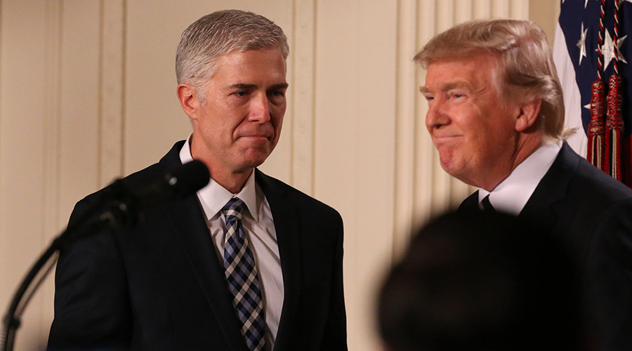 Trump nominates Neil Gorsuch to fill Supreme Court vacancy