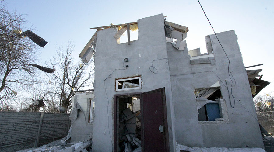Kiev admits advancing on rebels in east Ukrainian town 'meter by meter'