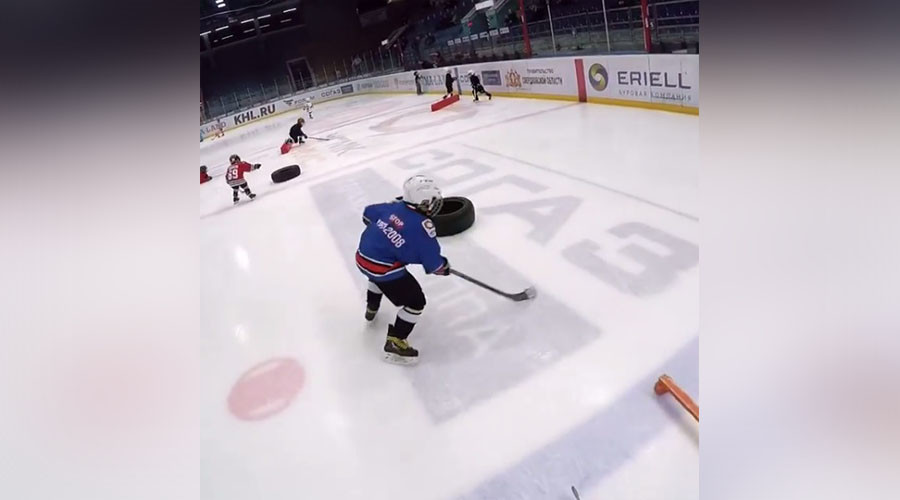 Videos of Russian kids' crazy ice hockey skills go viral