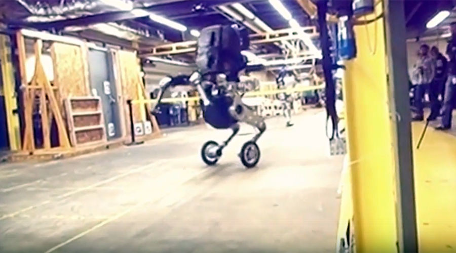 'Nightmare inducing' robot unveiled in leaked Boston Dynamics video (VIDEO)