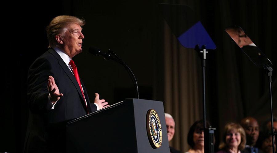 Trump pledges to 'totally destroy' law that bars political speech by churches, other orgs