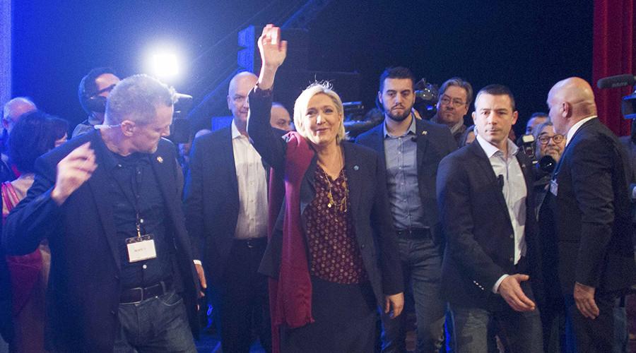 Leave euro & vote Frexit: Le Pen unveils National Front manifesto