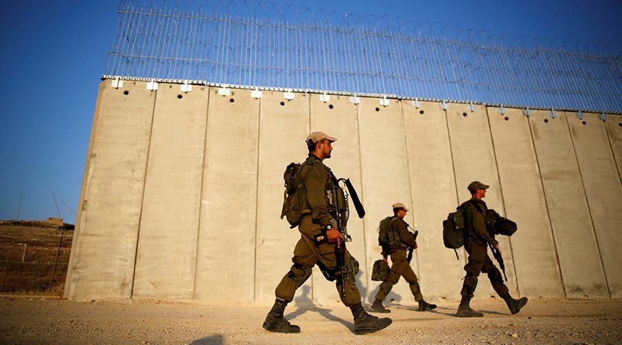 Israel reinforces 10km gap in West Bank separation barrier