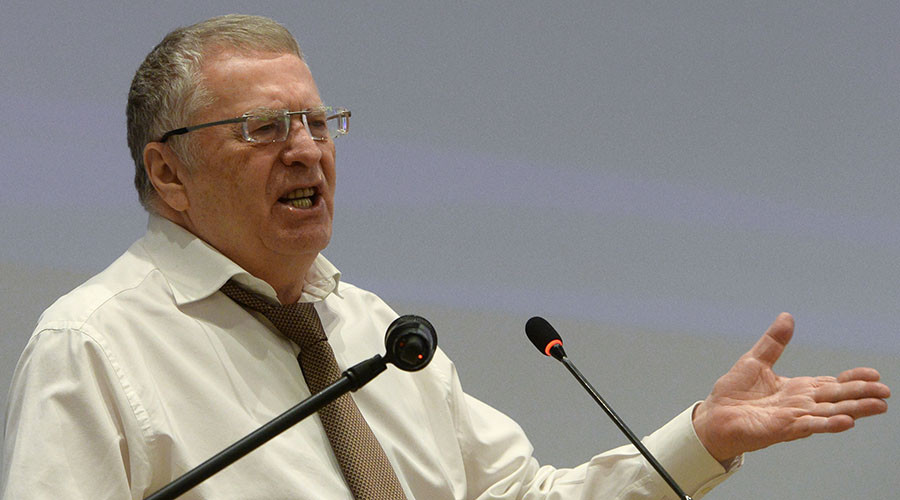 Liberal Democrats approve longtime leader Zhirinovsky as presidential candidate for 2018 race
