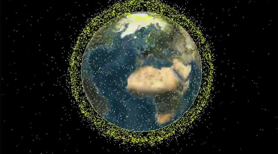 Space junk mission drawn into Earth's atmosphere & destroyed