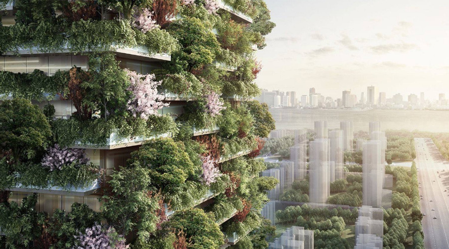 'Vertical forests' to tackle China's pollution problem (PHOTO, VIDEO)