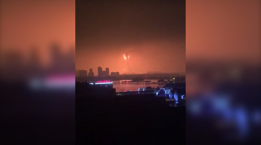 Massive explosion rocks chemical plant in east China – media