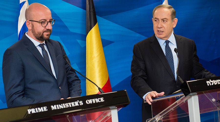 Netanyahu summons Brussels envoy after Belgian PM meets with anti-occupation groups
