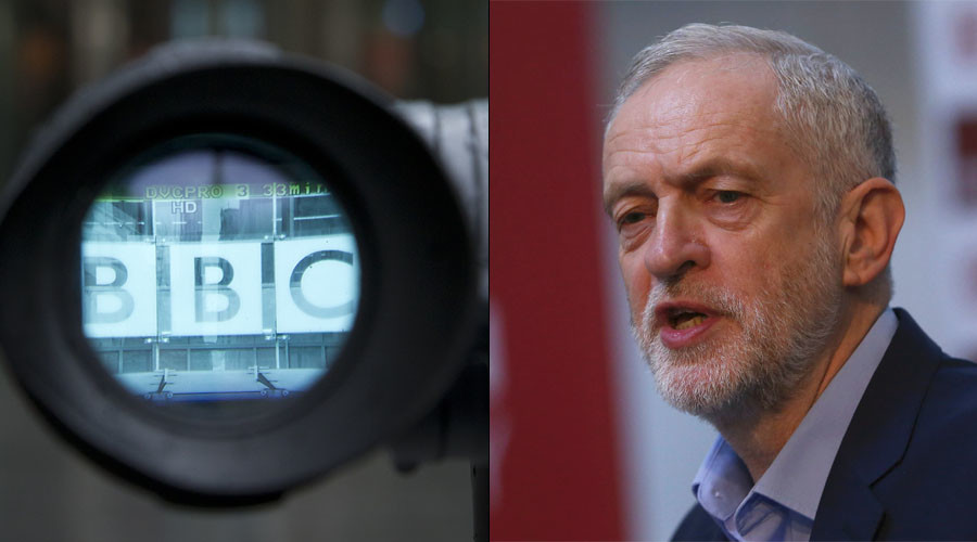 BBC reporting fake news? Labour leader Corbyn lashes out on live TV over quit claims (VIDEO)