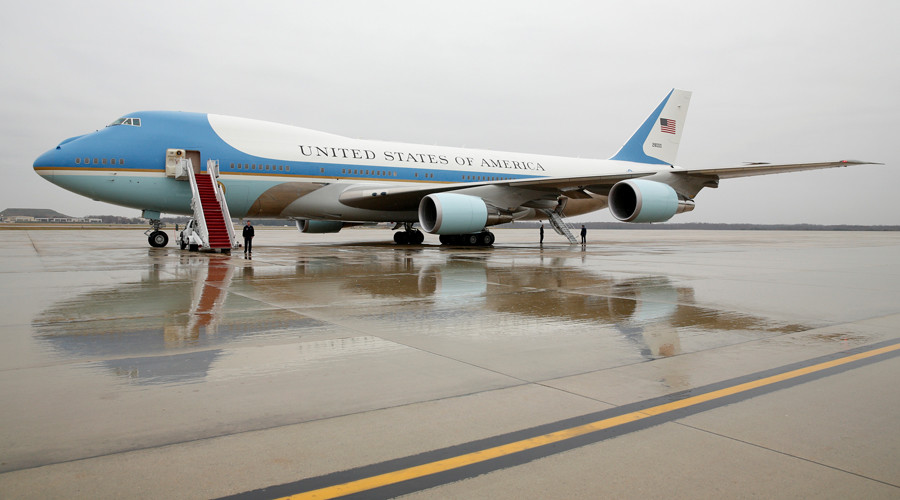 Scare Force One: Plane flew so close to US presidential jet that 'pilots could see each other'