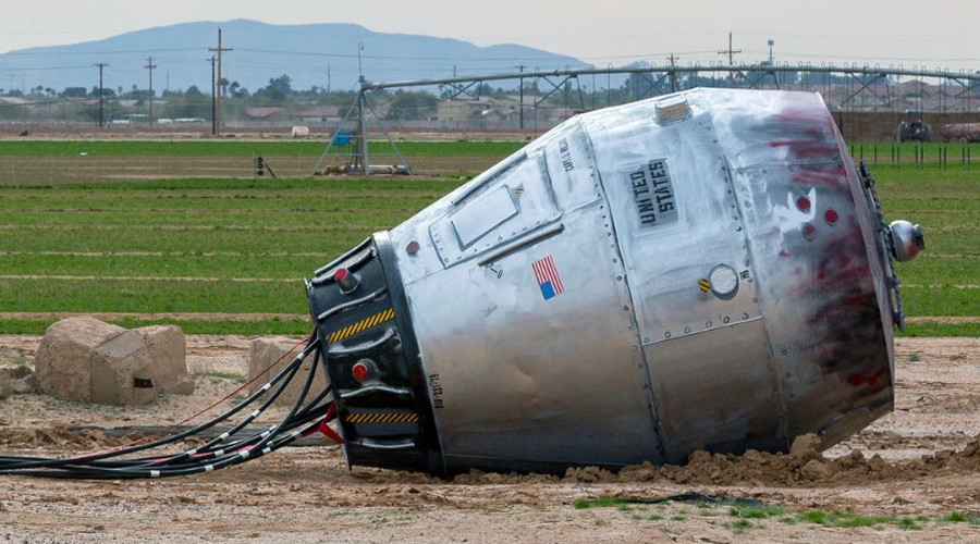 Mysterious 'space capsule' baffles Arizona onlookers (PHOTOS)