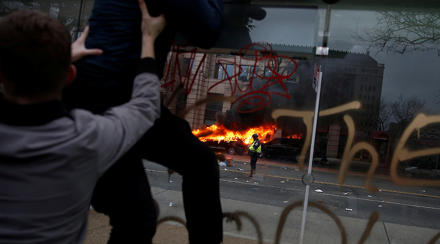 146 anti-Trump protesters indicted for rioting on Inauguration Day
