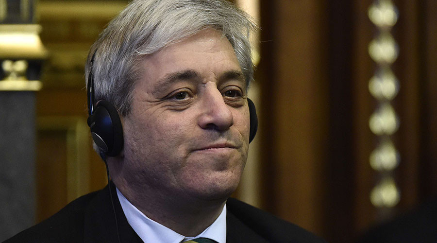 House of Commons Speaker Bercow faces no confidence vote over Trump remarks