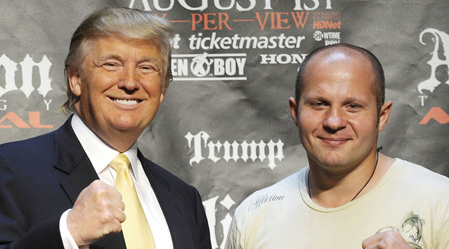 'Trump always cheered for Fedor': Ex-Emelianenko manager to RT SPORT (VIDEO)