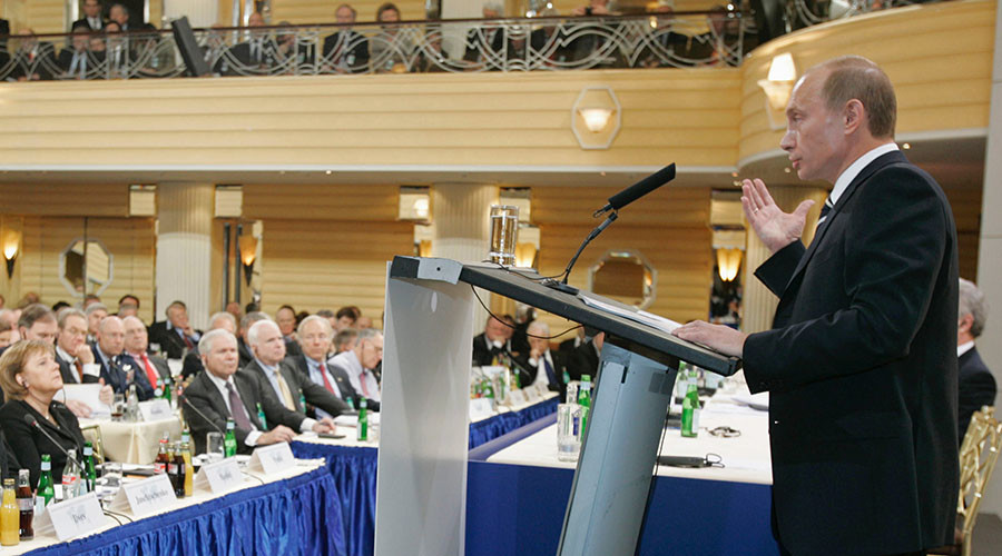 10 years on, Putin's Munich speech continues to resonate
