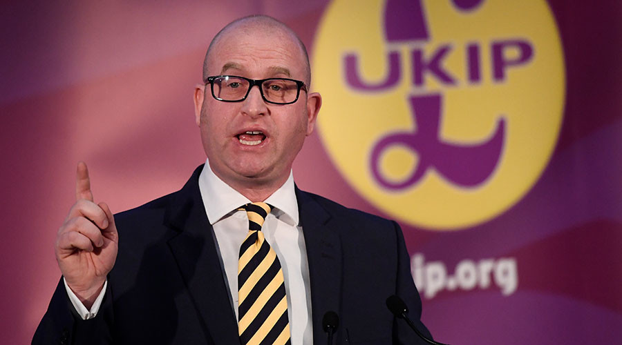 UKIP leader Nuttall under investigation by police, forced to leave Stoke 'home'