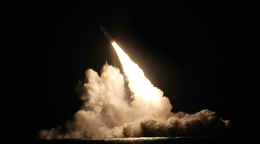 US Navy confirms Trident II test off California coast, puts end to 'UFO glow' speculations (VIDEOS)