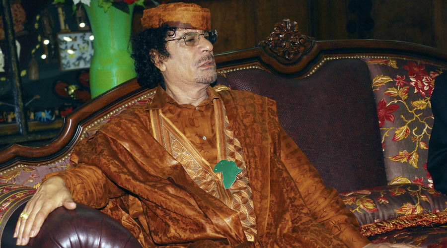Nibbly'un dictator! Ex-soldier faces jail for biting off man's ear while dressed as Gaddafi