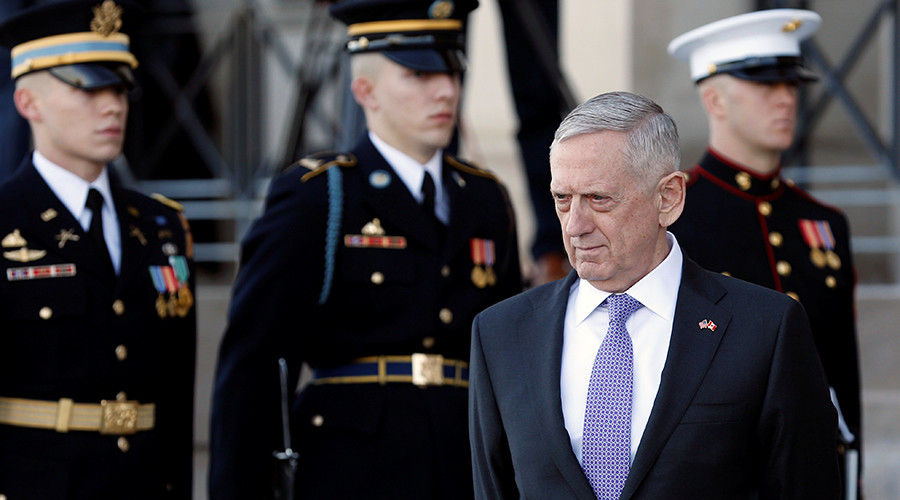 'US defense industry rubbing hands with glee as Mattis demands NATO allies spend more'