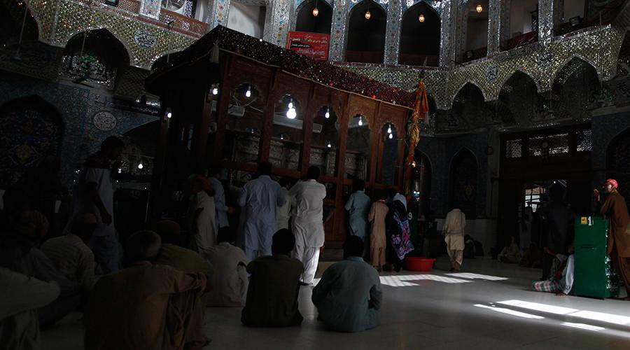 At least 100 killed, dozens more injured in blast at Pakistan shrine - police