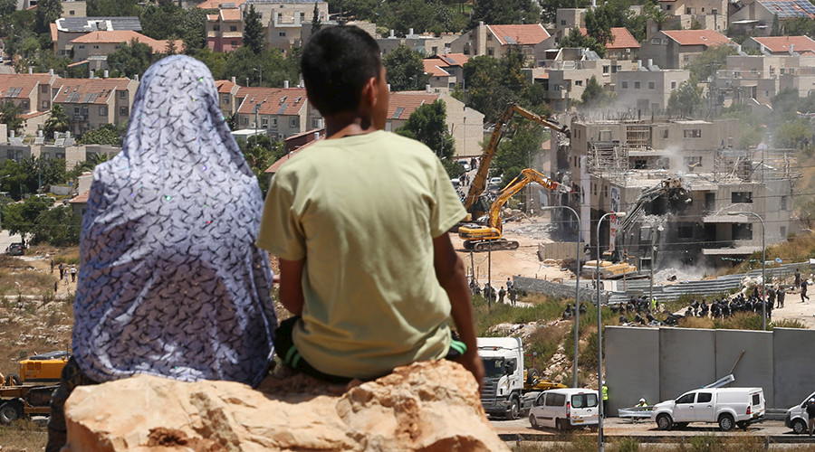 Record number of Palestinian homes destroyed by Israel in 2016 – rights group