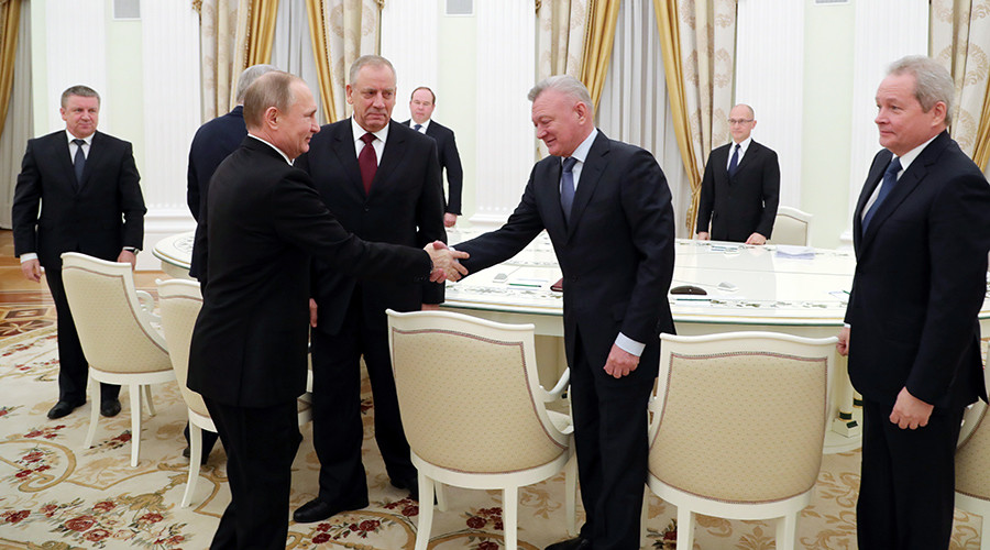 Putin plays down wave of governor resignations as 'natural process'