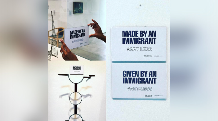 All 'immigrant' artwork to be removed by Boston museum