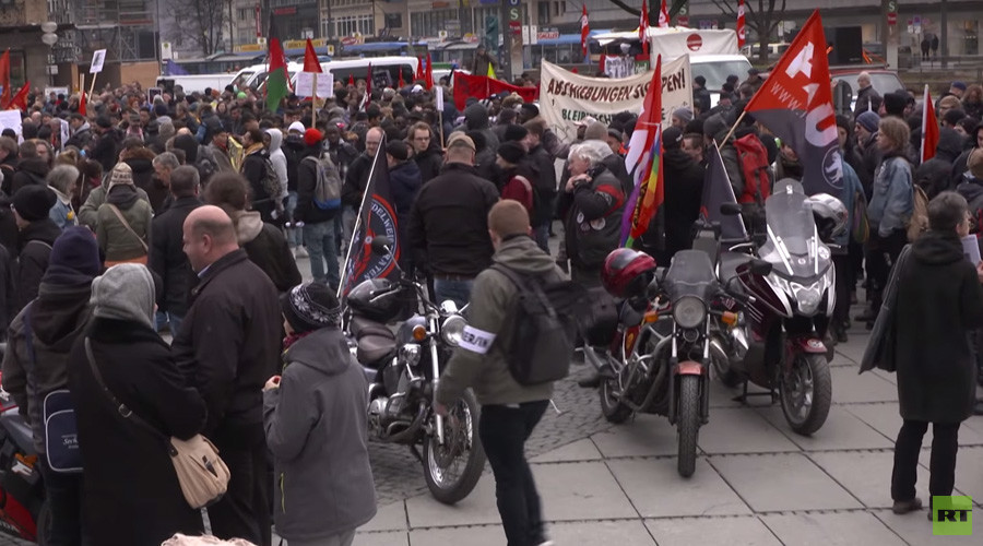 4,000 police for 1,500 protesters: Anti-NATO activists rally at Munich Security Conference (VIDEO)