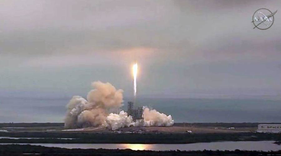 SpaceX launches rocket from NASA's historic pad to deliver cargo to ISS (VIDEOS, PHOTOS)