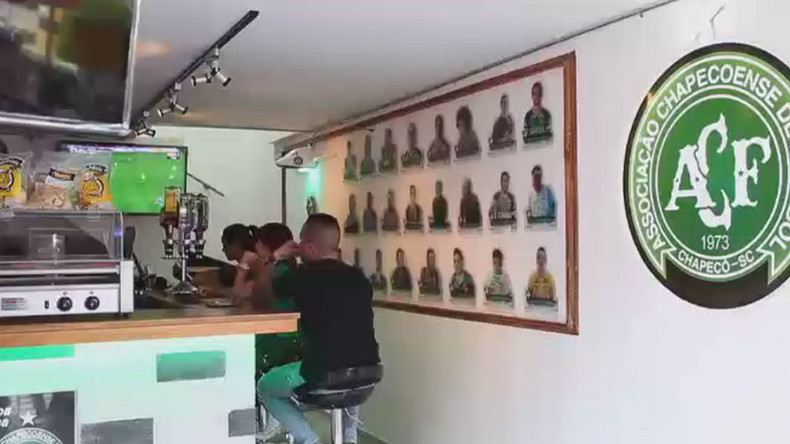 Chapecoense air disaster honored by Medellín bar (VIDEO)