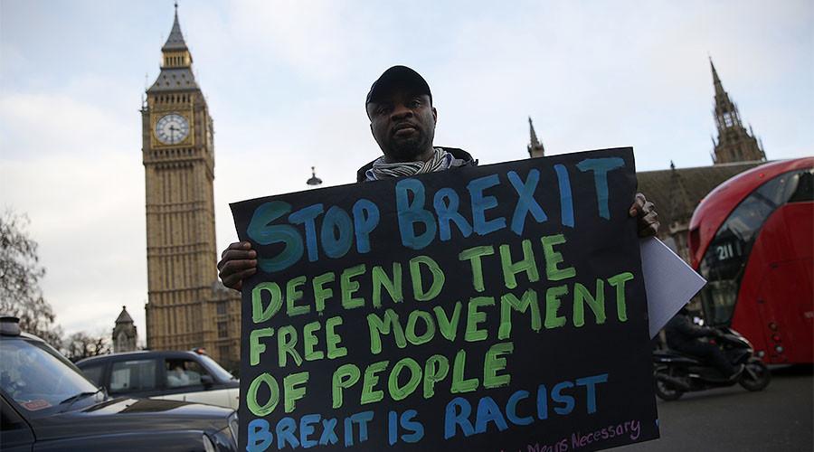Police deny link between Brexit & surging hate crime