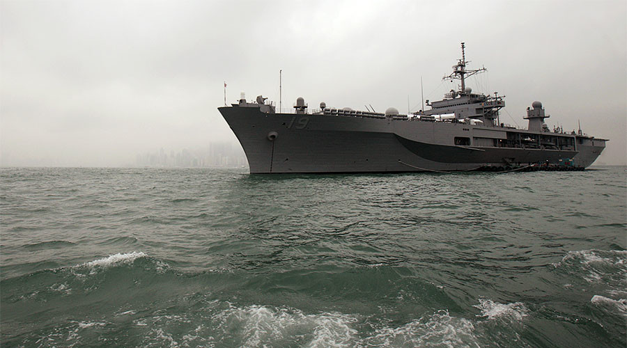 'Threatening & damaging': Beijing hits out at US patrols in South China Sea