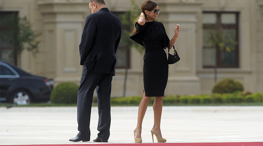 First lady turned first vice president: Azerbaijan leader Aliyev appoints wife to top post (PHOTOS)