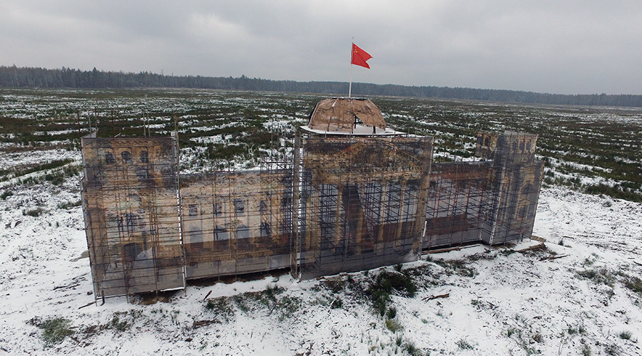 Russia building Reichstag replica for schoolchildren's military exercises