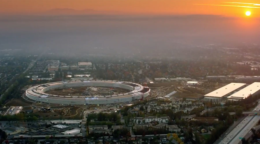 Ready for liftoff: Apple's new 'spaceship' campus to open in April (VIDEO)