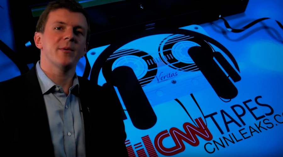 James O'Keefe & #ProjectVeritas release 'CNN tapes' online (VIDEO)