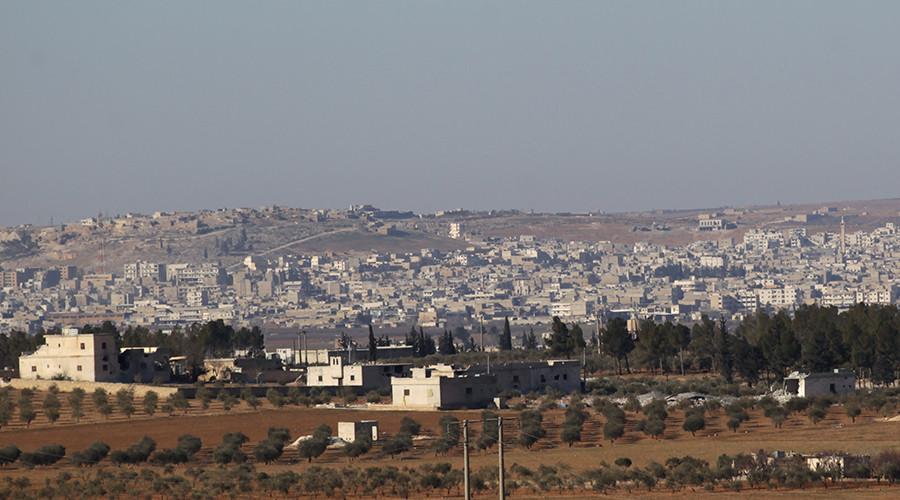 Turkey-backed Syrian rebels seize center of strategic town of Al-Bab