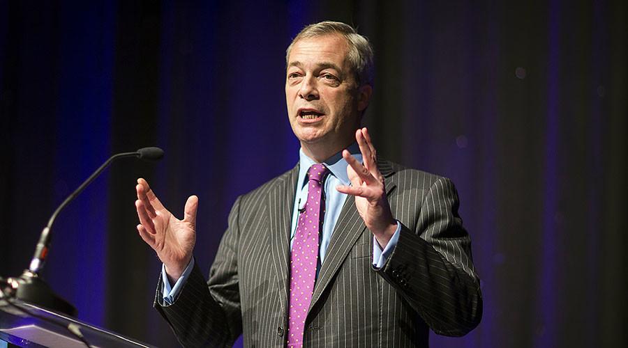 Farage slams liberal media for 'demonizing' & 'abusing' him