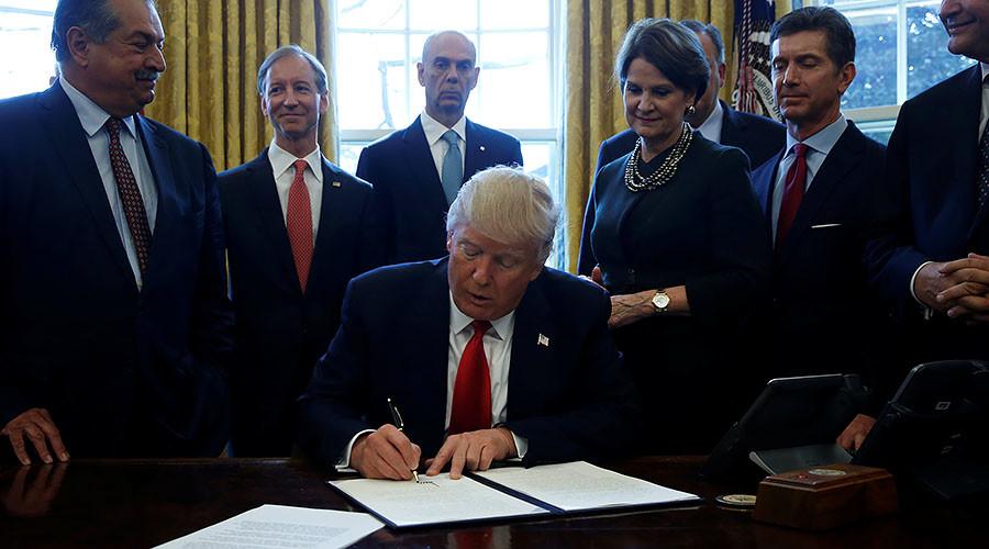 Trump's new executive order takes aim at federal regulations
