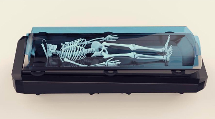 Futuristic farewell: Driverless hearse injects innovative life into funerals