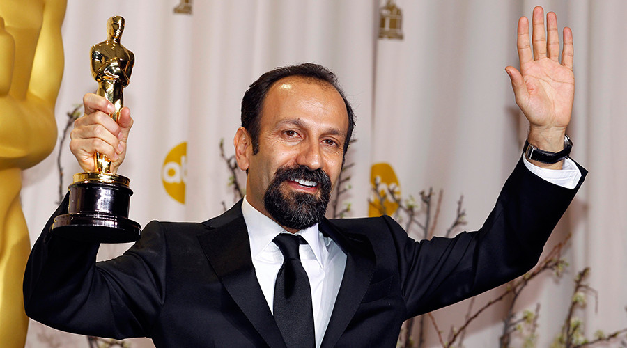Second Oscar for Iranian filmmaker who boycotted ceremony over Trump's travel ban