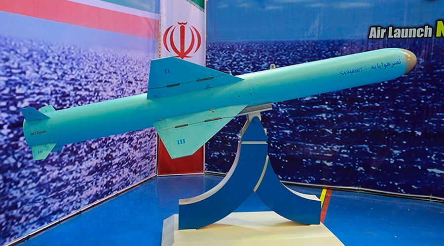 Iran test-fires Nasr sea-launched cruise missile during drills (VIDEO)