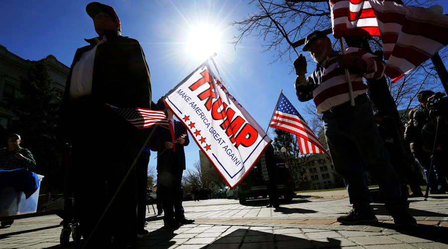 Hundreds gather for pro-Trump rallies nationwide