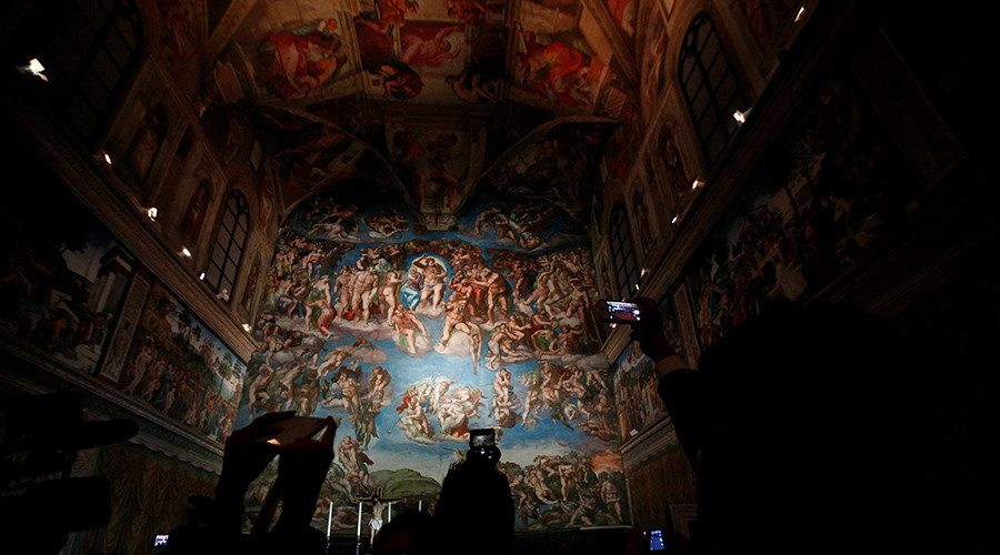 Top secret project captures the Sistine Chapel like never before