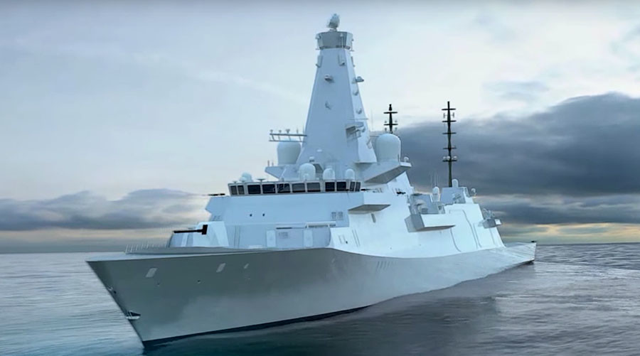 Next-generation UK warships have missile launchers… but no missiles