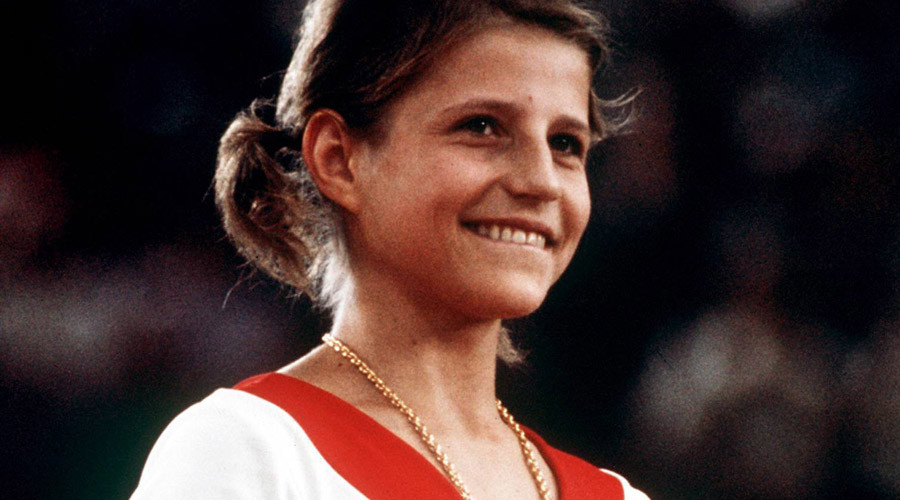 Former Soviet gymnast Olga Korbut sells Olympic medals at US auction