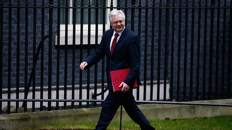 Britain's Secretary of State for Leaving the EU David Davis. © Peter Nicholls