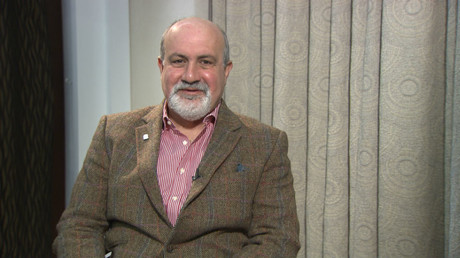 Nassim Nicholas Taleb. - risk analyst, bestselling author of 'Antifragile' and 'The Black Swan'